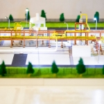 maqueta plataforma marina gas