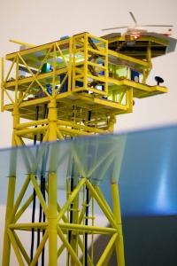 plataforma marina gas