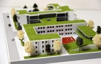 maqueta arquitectonica colegio