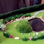 Maqueta Casa Jardin