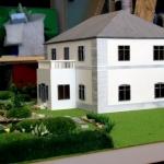 Maqueta Casa y Jardin