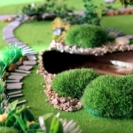 Maqueta Jardin