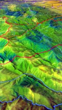 maqueta topografica