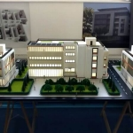 Maqueta Edificios Administrativos