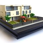 Maqueta de Casas
