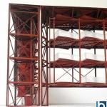 Maqueta de Estructura metalica