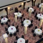 Maqueta de interior Restaurante