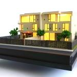 Maqueta de residencia