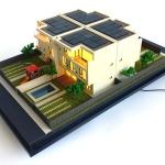 Maquetas de Casas Residenciales