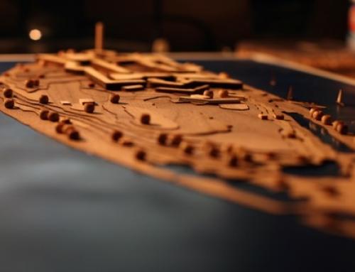 Maqueta Centro de Investigación Arqueológica