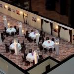 maqueta detallada restaurante