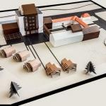 maqueta edificios Centros personas mayores