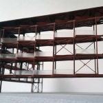 maqueta estructura metalica