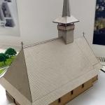 maqueta iglesia madera