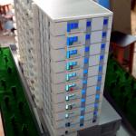 Maqueta Edificios Viviendas