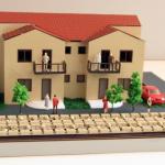 Maqueta casa