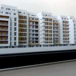 Maqueta de Edificio de Apartamentos