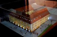 maqueta de edificio administrativo