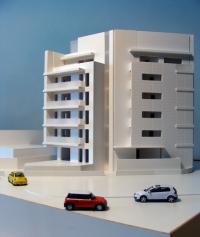Maqueta Bloque de viviendas