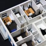 Maqueta apartamentos Interior