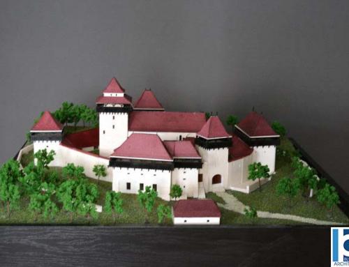 Maqueta Iglesia fortificada Viscri