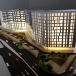 Maqueta Edificio de Apartamentos