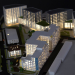 Maqueta Inmobiliarias Promociones Pisos