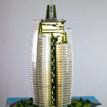 Maqueta de Rascacielos