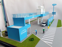 Maqueta industrial Estación Engie