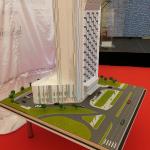 maqueta arquitectonica hotel