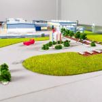 Maqueta Planta industrial