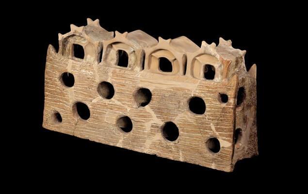 Maqueta de arquitectura descubierta en Bulgaria