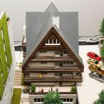 Maqueta Futuro Hotel